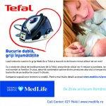 Tefal si MedLife te ajuta sa te bucuri de cele mai frumoase clipe alaturi de bebelusii tai