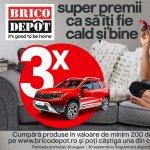 Brico Depôt te pregateste pentru sezonul rece cu o campanie cu super premii