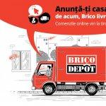 Brico Dépôt lanseaza serviciul Click & Delivery pentru comenzi online cu livrare la domiciliu