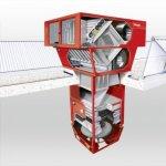 Hala cu ventilatie descentralizata sau centralizata? Un ghid care va ajuta sa decideti.