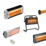 Incalzitoare cu infrarosu pentru terase si zone exterioare
