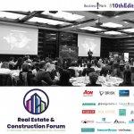 Real Estate & Construction Forum reuneste cei mai mari jucatori de pe piata de imobiliare si constructii