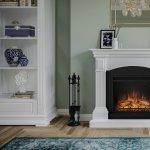 Semineul decorativ te plaseaza senzorial in atmosfera vatrei traditionale pe lemne